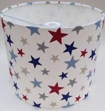 John Lewis Stars Lampshade Handmade In 20cm Drum, Little Home Stars, Children