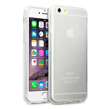 Transparent Silicone/Gel/Rubber Mobile Phone & Pda Fitted Case/skins for Apple