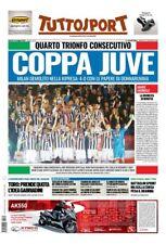 TUTTOSPORT 10/05/2018 JUVENTUS VS MILAN 4-0 WINNER COPPA ITALIA 2017/2018 JUVE
