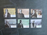2015 PORTUGAL FIGURES OF PORTUGUESE HISTORY & CULTURE SET 6 MINT STAMPS MNH