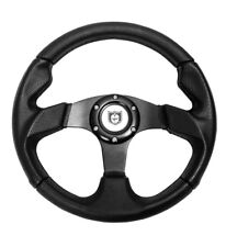 "Pro Armor Force 13"" UTV Steering Wheel BLACK 6 Bolt Pattern Polaris RZR XP S All"