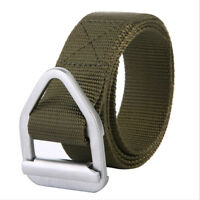 Adjustable Men Military Belt Buckle Combat Waistband Tactical Rescue Tool LO