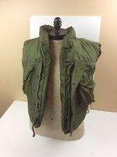 Armor Body Fragmentation Protective Vest With 3/4 Collar Medium Vietnam Era US