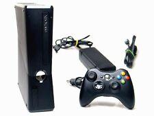 MICROSOFT XBOX 360 S KONSOLE SLIM 4 GB + ORIGINAL CONTROLLER (MATT SCHWARZ)