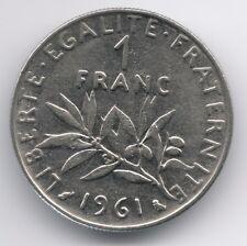 France :  1 Franc 1961