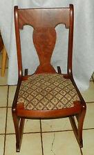 Mahogany Sewing Rocker / Rocking Chair (Rp-R144)