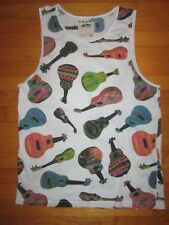 VANS Off the Wall String Instruments Tank Top/Shirt size XL