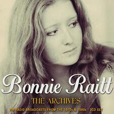 BONNIE RAITT New Sealed 2021 LIVE 1973 - 89 CONCERTS 3 CD BOXSET