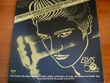 ELVIS / 50TH ANNIVERSARY / AN AUDIO SELF - PORTRAIT #DJM1-0835 DJ COPY