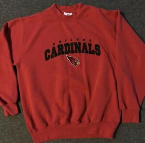 Arizona Cardinals Sweatshirt L Pat Tillman Tim Hightower Jersey Suns Veg 90s AZ