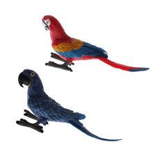 Safari Bird Bundle Giocattolo Animale Selvatico Set di 12 pappagallo PAPPAGALLINO Flamingo NUOVO