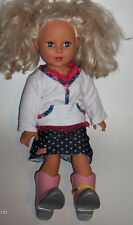 "Madame Alexander Doll Co. 2009 18"" Blonde Hair & Blue Eyes -nice clothes"