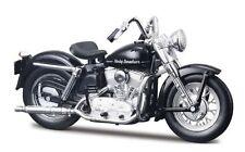 HARLEY DAVIDSON MODELLO, 1952 K modello Nero (30), Maisto Moto 1:18