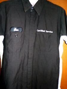 """GM CERTIFIED SERVICE"" Short sleeve shirt  Corvette Camaro Chevelle 442 GTO GS"