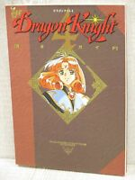 DRAGON KNIGHT 4 Perfect Guide w/Poster Art Works Fan Book 1994 TM