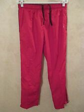 EUC DANSKIN NOW M 8-10 Red Lined Athletic Running Track Swimming Tennis Pants