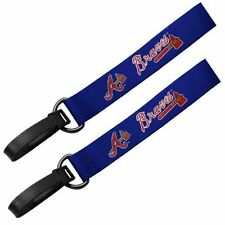 MLB Atlanta Braves 2 Pack Luggage Tags ID Tag Travel Tags