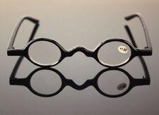 Beison Designer Glasses Small Round Oval Readers Retro Reading Glasses +1 +175