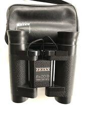 Neuwertiges Fernglas Zeiss 8x20 B 42 56 Jagd