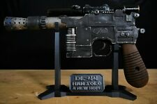 Star Wars Han Solo Blaster DL-44 Cosplay Movie Prop Replica & display stand