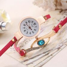 Steel  Fashion Bracelet Quartz Wrist Jeweled Watch Quartz Watch Crystal