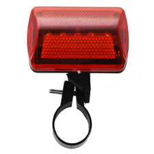 HU Phare Lampe Feu Arriere 5 LEDs Rouge Pour Velo Bicyclette