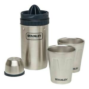 Stanley Adventure Happy Hour 2x System 0,591 l Shaker Cocktail-Mixer Edelstahl