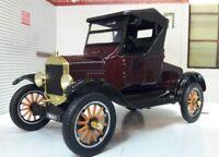 G LGB 1:24 Scale Ford Model T Vintage Car Runabout Railway Diecast Motormax 1925