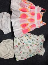 Little Girl Summer Dresses Size 6 And Size 9 Months Shoe Design Bottoms W Both