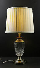 Antique Brass Classic Table Decoration Lamp With Glass Base JYK010