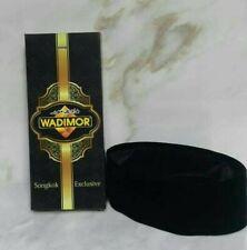 islamic prayer hat songkok peci moslem kuffi kufi wadimor black