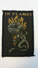USED In Flames death metal patch Sew On music USED aufnaher