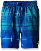 LAGUNA Boys' Third Wave Boardshort, Blue, 18/20