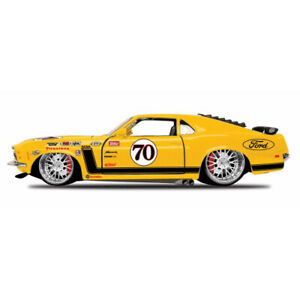 maisto 1:24 scale all star 1970 ford mustang boss 302 diecast vehicle (colours