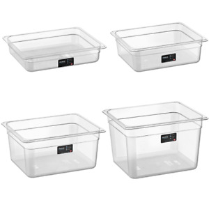 Corona Professional 1/2 GN PC Gastronorm Food Containers with Lid 3L 5L 9L 11L