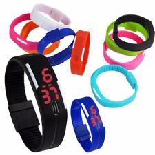 Fashion Men/Women Sport LED Waterproof Rubber Bracelet Digital Date Wrist Watch