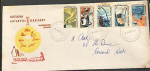 Australia FDC Royal 1966 Antarctic Territory Macquarie Island
