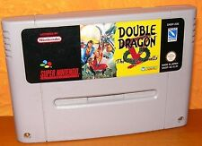 Snes Super Nintendo Double Dragon V the Shadow Falls