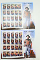 US Stamp 37c Legends of Hollywood John Wayne 2004 2x20-Sheet MNH A25A