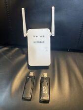 Netgear Wifi Range Extender (Ex6100v2) And 2 Netgear Dish Wireless N Dual Band