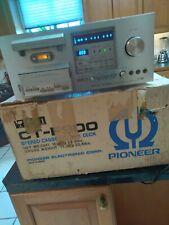 Pioneer Ct-F900 Cassette Deck w/ Original Box Pro Serviced