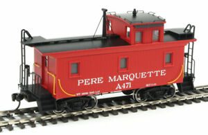 Walthers 920-103455 HO Pere Marquette DM&IR Class G2 Wood Caboose #A471 NIB