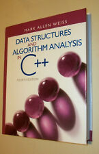 Data Structures and Algorithm Analysis in C++ (4th ed) Weiss hardback like new!