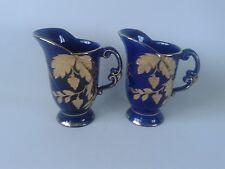 Arthur Wood Cobalt Blue & Gold leaf web design Jugs