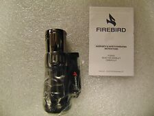 COLIBRI Firebird Afterburner Wind Resistant Triple 3 Jet Torch Lighter Black