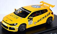 VW Volkswagen Scirocco R-Cup 2010 Dunlop #21 AMARILLO 1:43 Spark