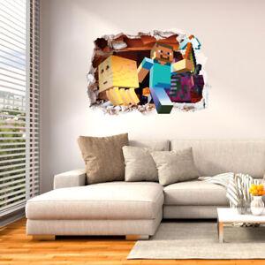 Children Wall Stickers 3D Nursery Kids Boy Room Decals UK hh3