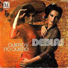 """7"""" DEBLAS quiero y no quiero / soy una gata SPAIN 1979 45 SINGLE DISCO"""