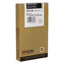 ORIGINALE Epson t6128 inchiostro Stylus PRO 7400 9400 7450 9450 7800 9800 Matte Black