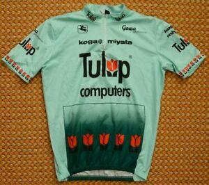 Tulip computers, Vintage Carratti Giordana Cycling Shirt, Size XXL